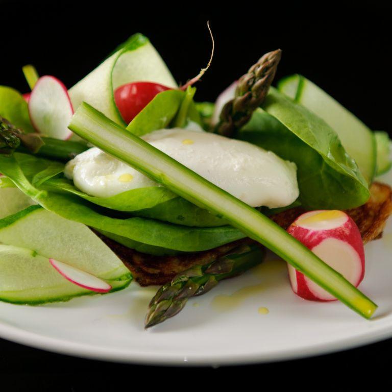 Bliny wsrod chrupiacych warzyw