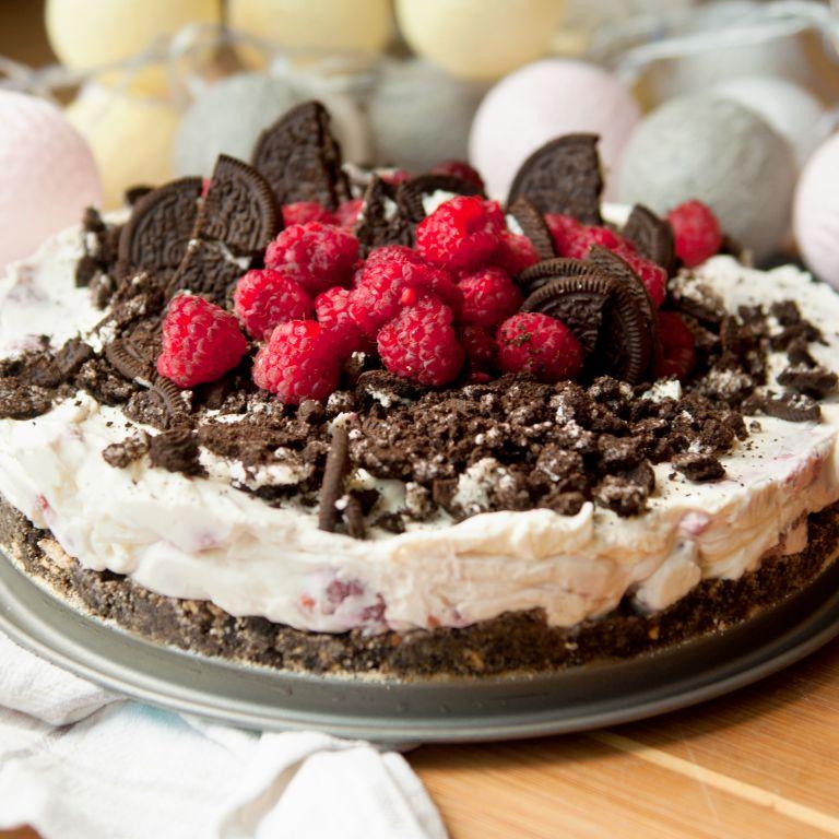 Szybkie kremowe ciasto oreo bez pieczenia