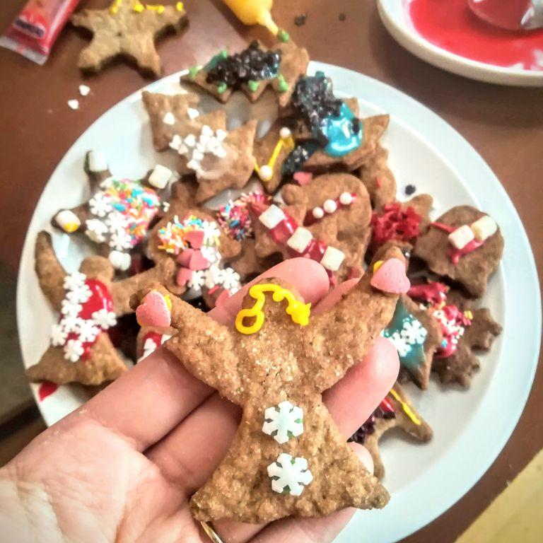 Kruche ciasteczka piernikowe