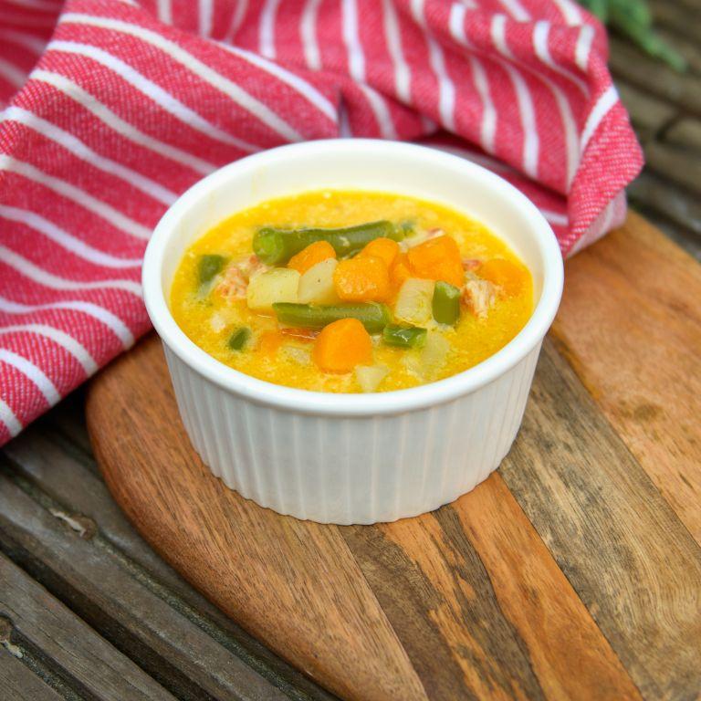 Zupa z dynią i mleczkiem kokosowym