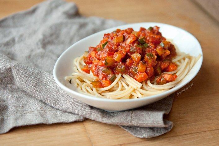 Bezmięsne spaghetti